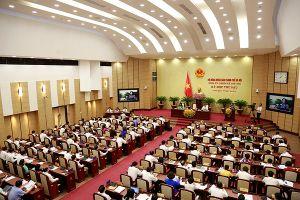 HĐND TP Hà Nội sẽ lấy phiếu tín nhiệm với lãnh đạo chủ chốt