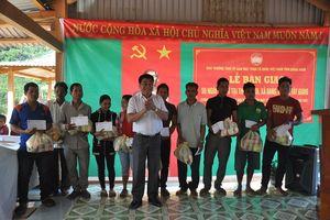 MTTQ Quảng Nam bàn giao 50 ngôi nhà cho người dân bị ảnh hưởng thiên tai