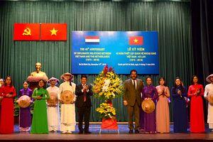 Kỷ niệm 45 năm thiết lập quan hệ ngoại giao Việt Nam – Hà Lan