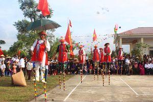 Sống dậy 'đặc sản' văn hóa dân gian trong Ngày hội Đại đoàn kết