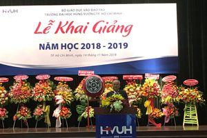 Sinh viên ĐH Hùng Vương TP.HCM tăng 4 lần so năm trước