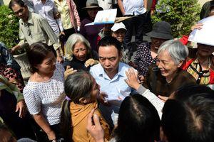 'Mong bà con Thủ Thiêm rộng lòng tha thứ cho chính quyền'