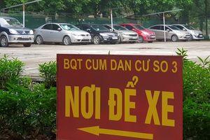 Phường Hoàng Liệt, quận Hoàng Mai: Cấp phép 'ngầm' cho bãi xe chui?