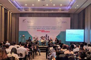 Hội thảo về Thương mại hóa nghiên cứu đổi mới sáng tạo đại học