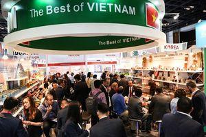 Thực phẩm và đồ uống đặc sắc của Việt Nam sang Dubai 'mê hoặc' Gulfood 2019