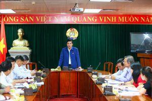 Thường trực Đoàn Chủ tịch Tổng LĐLĐVN làm việc với LĐLĐ tỉnh Quảng Nam