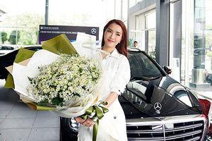 Ca sĩ Bích Phương tậu xe sang Mercedes-Benz S450L hơn 4 tỷ