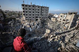 Dải Gaza tan hoang sau khi hứng đủ 'mưa bom bão đạn' Israel