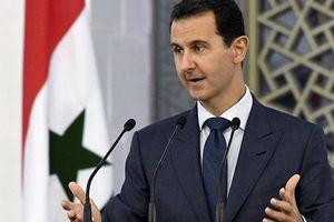 Cám ơn Tổng thống, người Syria công kênh ông Assad trên vai