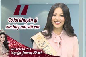 Nguyễn Phương Khánh xúc động gửi lời chào người dân Bến Tre