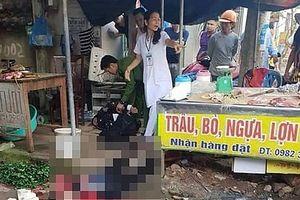 Người phụ nữ bán đậu bất ngờ bị bắn tấn công bằng súng giữa chợ
