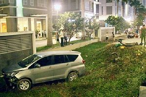 TP.HCM: Ôtô đâm 4 xe máy, một người tử vong bốn người bị thương nặng