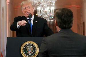 Đài CNN kiện ông Trump và Nhà Trắng về việc 'cấm cửa' phóng viên