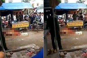Nghi án người phụ nữ bán hàng bị bắn tử vong giữa chợ