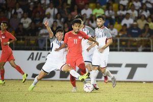Philippines đánh bại Singapore trong ngày ra mắt của HLV Eriksson!