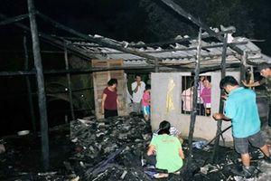 Bé gái 11 tuổi chết thảm trong căn nhà bị thiêu rụi