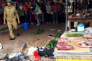 Vụ người phụ nữ bị bắn chết giữa chợ: Nghi can đã uống thuốc diệt cỏ