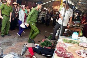 Hải Dương: Cô gái bán đậu bị bắn, chém tử vong ngay tại chợ