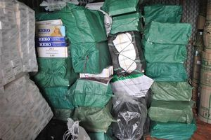 Lực lượng Hải quan thu giữ gần 3 triệu bao thuốc lá lậu