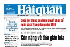 Những tin, bài hấp dẫn trên Báo Hải quan số 137 phát hành ngày 15/11/2018