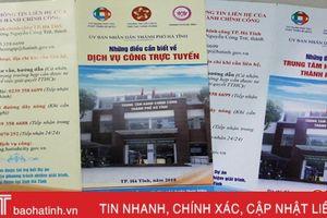 TP Hà Tĩnh tiếp nhận, xử lý nhiều hồ sơ từ Hà Nội, TP Hồ Chí Minh, Đà Nẵng