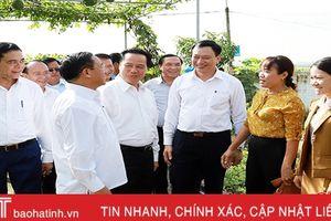 Xây dựng nông thôn mới ở Hà Tĩnh là kinh nghiệm quý để Bôlykhămxay học tập