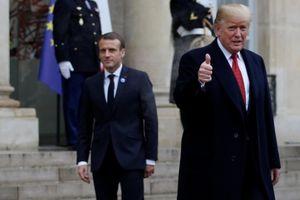 Ông Trump 'trở mặt' với Tổng thống Pháp