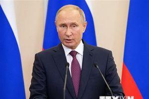 Tổng thống Vladimir Putin dự hội nghị thượng đỉnh Nga-ASEAN