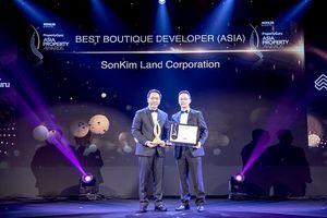 SonKim Land chiến thắng giải 'Best Boutique Developer' tại BĐS Châu Á 2018
