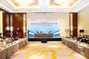 Hội thảo 'Sáng kiến Vành đai - Con đường' và hợp tác Việt - Trung