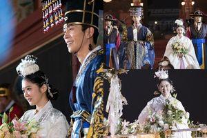 'The Last Empress': Cảnh 'đám cưới thế kỷ' của Jang Nara và Hoàng đế Shin Sung Rok quay suốt 2 ngày