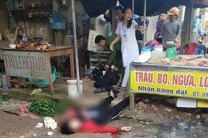 Hé lộ nguyên nhân người phụ nữ bán đậu phụ ở Hải Dương bị bắn chết giữa chợ