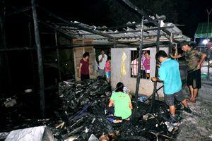 Cà Mau: Bé gái 11 tuổi ở nhà một mình tử vong do nhà bị cháy