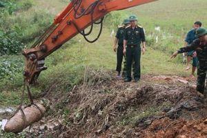 Nghệ An: Phá hủy thành công quả bom nặng 300kg