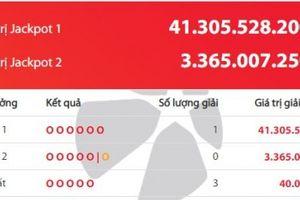 Giải Vietlott 41 tỷ đồng đã tìm được chủ nhân
