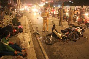 Tài xế ôtô tông 4 xe máy khiến 1 người tử vong khai gì?