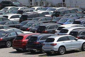 Xe nhập khẩu về nhiều, thị trường ô tô Việt tăng mạnh