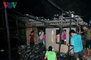 Bé gái ở nhà một mình tử vong trong vụ cháy