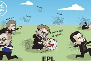 Biếm họa 24h: Man City gieo rắc nỗi sợ hãi cho cả Premier League