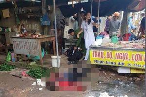 Vụ người phụ nữ bị bắn chết tại chợ ở Hải Dương: Nghi phạm bị ngáo đá