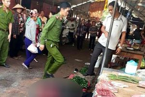 Người phụ nữ bán đậu phụ bị bắn chết giữa chợ ở Hải Dương: Hé lộ nguyên nhân gây án