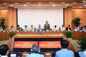 Các đoàn công tác của Ban chỉ đạo Trung ương về phòng, chống tham nhũng làm việc với Thành ủy Hà Nội