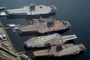 'Nghĩa địa tàu chiến' của Hải quân Mỹ lớn hơn của cả Nga và Trung Quốc cộng lại