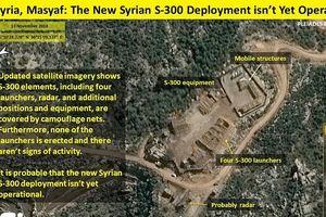 Vệ tinh Israel khẳng định S-300 tại Syria 'chưa hoạt động'