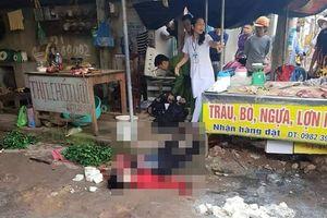 Hải Dương: Một phụ nữ bị bắn chết giữa chợ