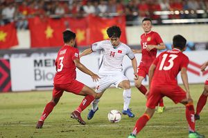 Công Phượng góp mặt trong đội hình tiêu biểu hiện tại của AFF Cup 2018