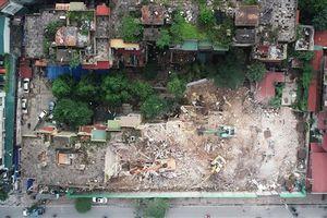 Toàn cảnh phá dỡ khu chung cư 'đất vàng' ngủ quên 7 năm giữa lòng Thủ đô