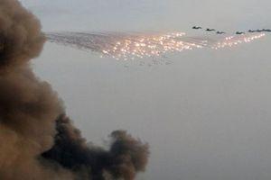 Syria: Ổ IS trúng bom Mỹ, 20 tên khủng bố chết chùm