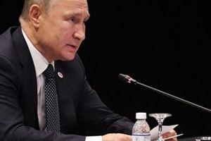 Ông Putin không đi qua khung dò kim loại ở Singapore