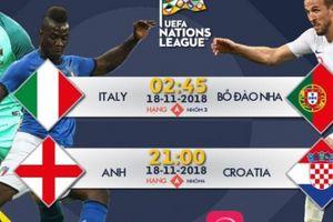 Lịch thi đấu lượt trận cuối UEFA Nations League: Nhiều bất ngờ